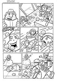 coloring word pages inside and omeletta me