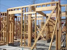 wood framed structural steel wood framing