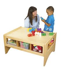 childcraft toddler multi purpose play table 36 x 26 x 18 inches