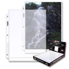 8 X 10 Photo Album Bcw Pro 8x10 Photo Page 100 Ct Box Bcw Supplies