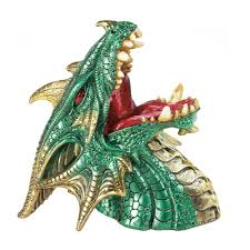 Wine Home Decor Green Dragon Drinking Wine Holder Wholesale At Koehler Home Decor