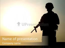 us army powerpoint template american soldier iraq ranger
