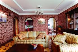 Victorian House Interiors by Dark Victorian Home Interior Wallpaper