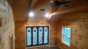 Decorative Beams Construction Show Me Log Homes