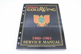 new honda service manual gl1100 honda goldwing shop repair book