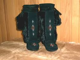 womens fringe boots canada moccasins mukluks slippers boots and mitts for