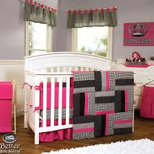 Girls Pink And Black Bedding by Agreeable Baby Bedding Pink And Grey Perfect Furniture Home