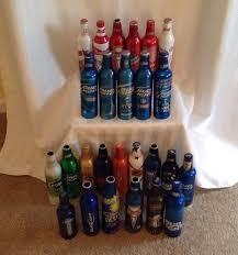 busch light aluminum bottles lot of 26 budweiser and bud light aluminum bottles vintage games