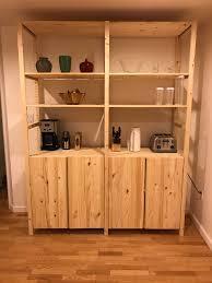 ikea hours shelf design ivar sections shelves cabinets pine 0271623