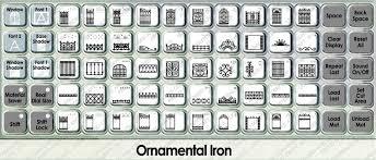 ornamental iron cricut cartridge