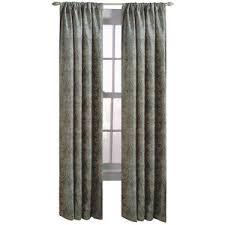 Allen Roth Curtain Allen Roth Raja 63 In L Paisley Steel Rod Pocket Curtain Panel