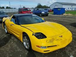 repossessed corvettes for sale salvage chevrolet corvette for sale at copart auto auction