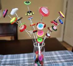 button flowers toddler activities button flowers add color to any vase for