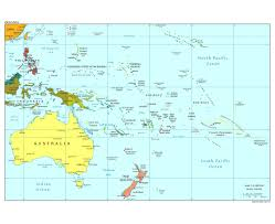 map of australia with cities and states maps of oceania and oceanian countries political maps road and
