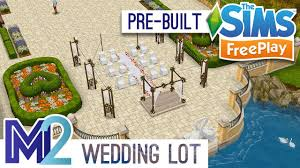 wedding cake sims freeplay sims freeplay wedding ceremony reception pre built template