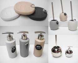 chrome or stone effect bathroom accessories soap dish dispenser