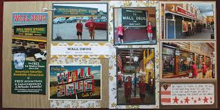 wall drug scrapbook page south dakota road trip 12x12 layout wall drug scrapbook page south dakota road trip 12x12 layout we r memory