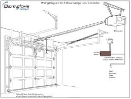 Sample Controller Garage Door Controller Wire Diagrams Easy Simple Detail Ideas