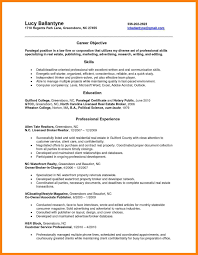 paralegal resume template notary resume template best of 10 paralegal resume