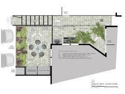 courtyard design south end courtyard matthew cunningham landscape design llc