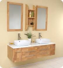 Bathroom Brilliant Best  Wooden Vanity Ideas On Pinterest - Solid wood bathroom vanity top