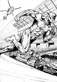 superhero coloring pages free download coloring pages the flash coloring pages the flash