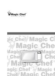 magic chef microwaves mcd990arb pdf owner u0027s manual free download