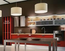 marron cuisine maison moderne en l modele cuisine couleur marron et creme