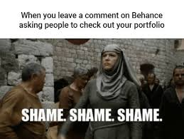 Shame On You Meme - 19 memes every graphic designer will relate to