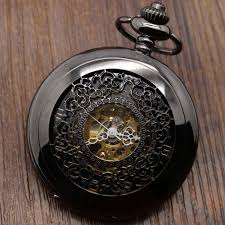 watch chain necklace images Steampunk pocket watch with necklace chain pocket watch hub jpg