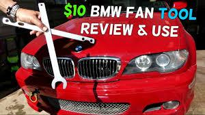 bmw e46 fan removal tool 325i 330i 323i 328i 320i 316i 318i youtube