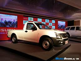 isuzu dmax 2015 isuzu d max pickup launched in india prices start at rs 5 99 lakhs