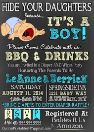 hide your daughters because it u0027s a boy baby shower
