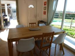 Landes Dining Room Superb And Villa For The Holidays To The Sea Landes
