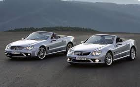 2006 mercedes slk class 2006 mercedes sl 55 amg and sl 65 amg review top speed