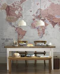 World Map Wall Decor Cool World Maps For Wall Decoration In Your House Nytexas