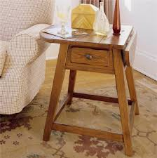 drop leaf end table splay leg end table with 1 drawer and drop leaf top by broyhill