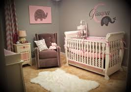 Sweet Girl Elephant Nursery Theme