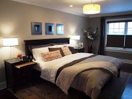 Brown Bedroom Ideas by Bedroom Brown Nightstands White Platform Bed White Headboards