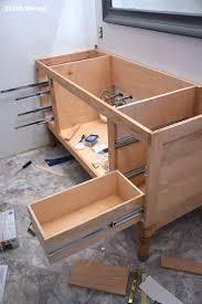 Build Your Own Bathroom Vanity Cabinet Build A Diy Bathroom Vanity Part 4 The Drawers