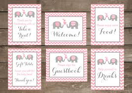 baby shower welcome sign elephant baby shower signs baby shower signs elephant