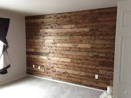 Brown Accent Wall by You Are Only A Day Away From Your Very Own Wooden Accent Wall