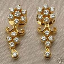 gold earrings design fashion room gold earrings designs