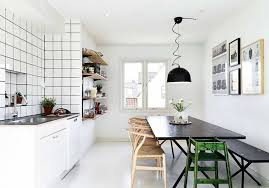 interior fantastic scandinavian kitchen ideas with black