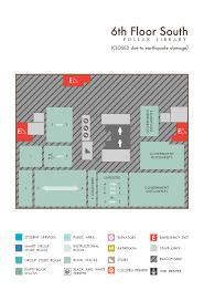 floor maps pollak library csuf
