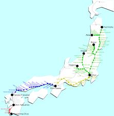 Map Japan Shinkansen Map Go Japan Go