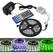 jiawen 5m 5050 rgbw led light remote controller 12v 2a