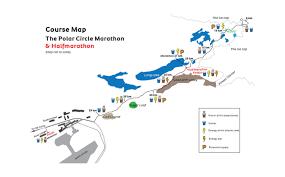 Qatar Route Map by Race Info Polar Circle Marathon