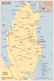 Michigan Map With Cities by Maps Of Qatar Detailed Map Of Qatar In English Tourist Map Of