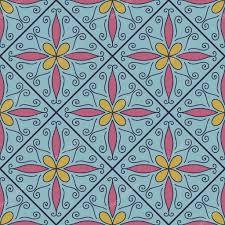 marokkanische fliesen ornamente stockvektor 97383530